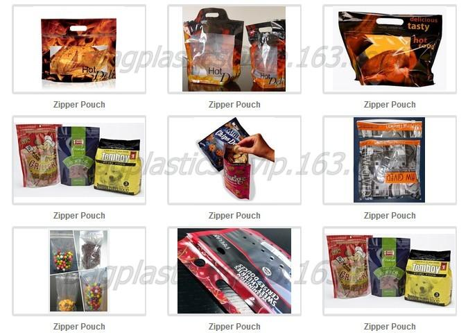 Rotisserie Chicken Pouches, Polypropylene Pouches, Aluminum Foil Bags, Stand Up Pouches Stand Up Zipper Bag with Portabl