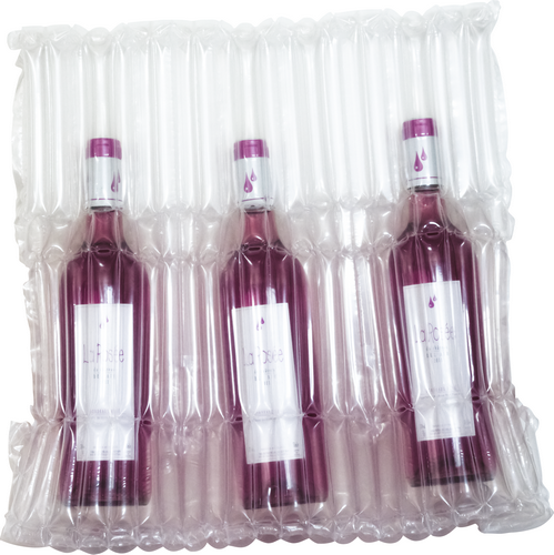 Bottle bags, air sac, air-sac, air-sacs, emballage, protection bag, wine, sleeves Column Bag, air Column Bag