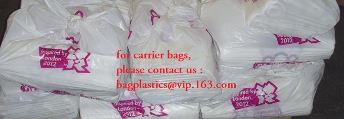 poly carrier, t shirt bag, rubbish bags, handy bags, handle bags, shopper, LDPE, HDPE, MD