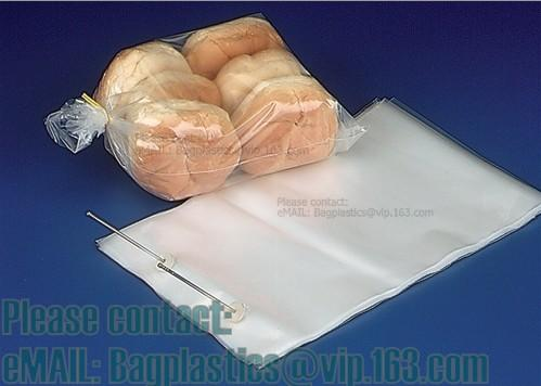 Bread perforation bags, Wicketed Micro Perforated bags, Bakery bags, Bopp bags, Bread bags