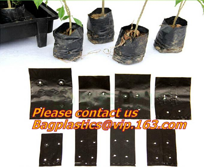 Waterproof, Garden, Patio Plant, Flower, Grow Bags, 8 Pockets, Pouch, Hanging Planter