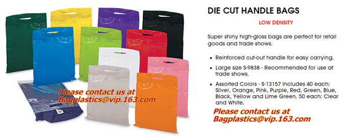 soft loop handle plastic bag manufacturer,cheap black plastic bags with handles