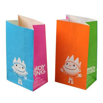 Candy & Cake Bag, Sweet cake paper bag, Sugar packing paper bag, Small cake paper bag, Pastry packing bag, Candy packing