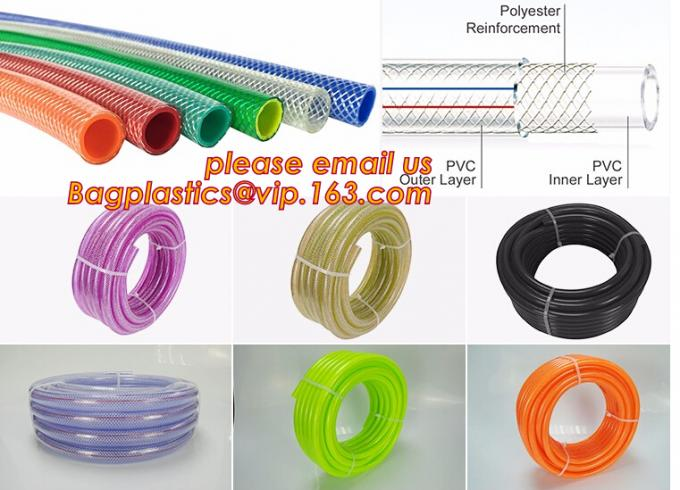PVC Non-toxic Flexible Transparent PVC Tube, Hose for Delivery Liquid