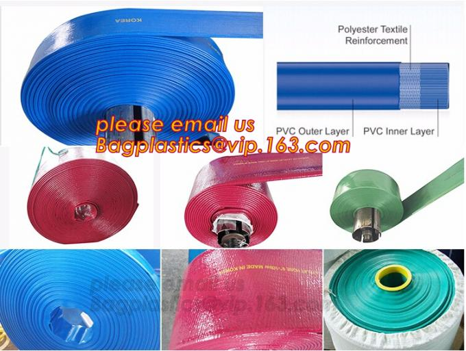 Rubber & Rubber Products, Rubber Tube, Pipe & Hose, high pressure agricultural irrigation flexible pump water PVC Yellow
