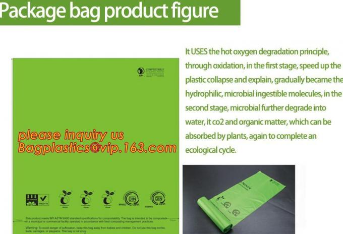 biodegradable compostable eco friendly orn starch dry cleaning laundry bag, biodegradable plastic drawstring laundry bag