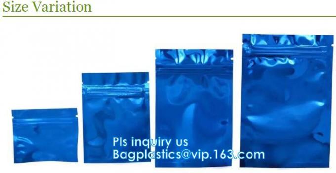 zipper, specialty zippers, valve, Clear opp square bottom gusseted candy bags, Fancy OPP plastic square bottom packing