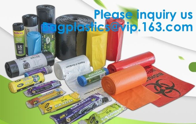 Compostable Dog Poop Bags, Extra Thick Pet Waste Bags, Single Roll, Earth Friendly ASTM D6400, US BPI Europe OK Compost