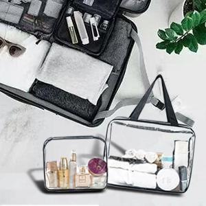 clear cosmetic bag airline