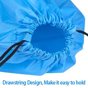 Drawstring Design easy to hold