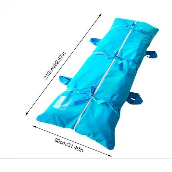 Factory custom PVC body bag for dead bodies export Prevent odor and leakage funeral supplies,Disposable Mortuary Dead Bo