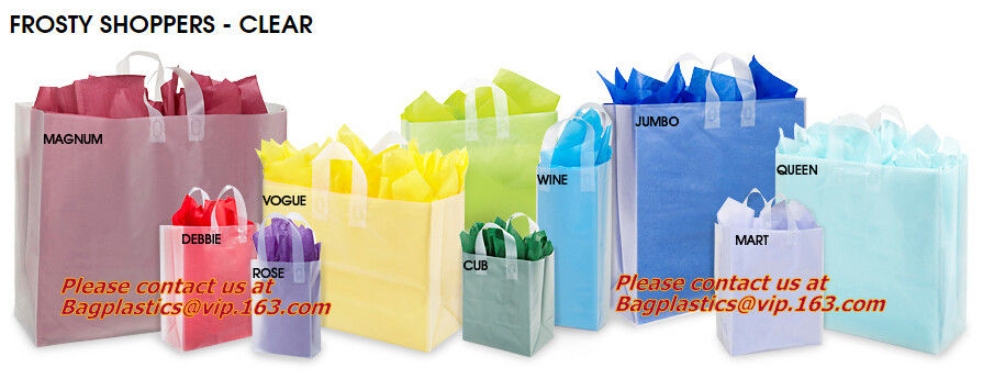 China best T-SHIRT BAGS, VEST CARRIER, SINGLET BAGS, C-FOLDING BAGS, STAR SEAL BAGS ON ROLL, MERCHANDISE BAGS,  on sales