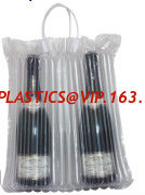 China Bottle bags, air sac, air-sac, air-sacs, emballage, protection bag, wine, sleeves Column Bag, air Column Bag supplier