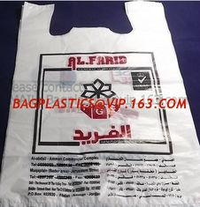 China poly carrier, t shirt bag, rubbish bags, handy bags, handle bags, shopper, LDPE, HDPE, MD supplier