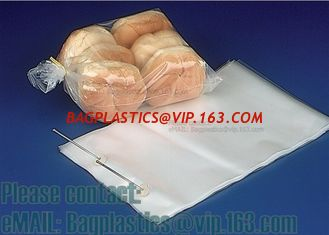 China Bread perforation bags, Wicketed Micro Perforated bags, Bakery bags, Bopp bags, Bread bags supplier
