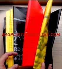China Biohazard Bags, LDPE bags, HDPE bags, LLDPE bags, Yellow bags, Red bags, Blue bags, sacks supplier