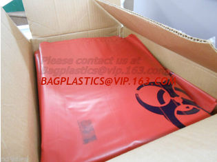 China Specimen bags, autoclavable bags, bio, Biohazard waste bags, sacks, Cytotoxic Waste Bags supplier