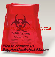China Clinical waste bags, Specimen bags, autoclavable bags, sacks, Cytotoxic Waste Bags, biobag supplier