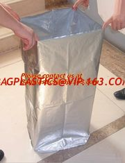 China bulk plastic waterproof zipper bags, ziplock aluminum foil bag sealer,custom printed foil supplier