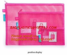China Pencil case, zipper seal pencil bags, see through mesh grid pencil bag, mesh pouch, mesh pencil bags, mesh pencil case supplier