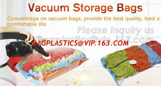 China Hot sale nylon PE laminated plastic vacuum storage bag for clothes, super-large vacuum storage compression jumbo bag supplier