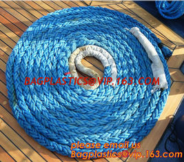 China polyester mooring hawser rope, cheap and quality 3 inch polypropylene marine rope, polypropylene rope, PET+PP rope supplier
