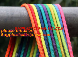 China Best quality Green amusement equipment polyester rope 5mm nylon braided rope supplier