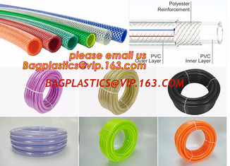 China PVC Non-toxic Flexible Transparent PVC Tube, Hose for Delivery Liquid supplier