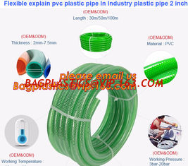 China Flexible explain pvc plastic pipe In Industry plastic pipe 2 inch supplier