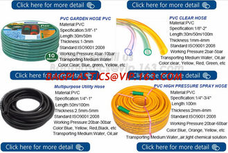 China Transparent PVC Spiral Pipe Plastic Hose With Spring Steel Wire Reinforcement supplier