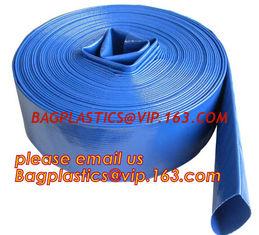 China Liquid PVC Layflat Discharge Tubing High Pressure Water Hose 40MM For Agriculture Project supplier