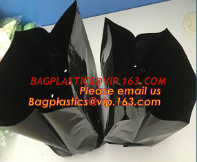 China heavy duty white plastic grow bags planting trees bags nursery greenhouse bags supplier
