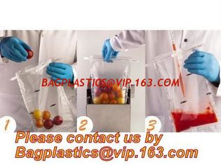 China TWIRLEM BAG, STERILE BAG, STOMACHER OPEN TOP BAG, FILTERED BAGS, FILTER BAG, FILTRA BAG, BLENDER BAGS, LAB BAG, SAMPLE supplier