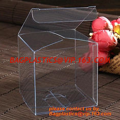 China 0.3mm UV printing plastic transparent custom OEM PET box, general comestic pack PVC box custom PVC box high quality PE supplier