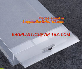 China Oem Clear Plastic Soft Crease Folding box for brush packaging, plastic boxes PVC plastic rectangle fold box packaging PV supplier
