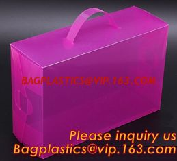 China Electric product vinyl ear phone black paper box , plastic box, pvc plastic box transparent plastic shoe box clear plast supplier