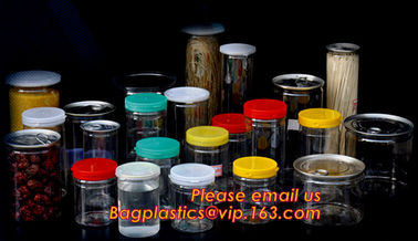 China round shape plastic clear box, plastic round box/printing cylinder box/round tube box with lid supplier
