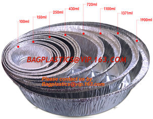 China Rectangular disposable aluminum foil container for fast food, full-size deep steam aluminum foil container BAGEASE PACKA supplier