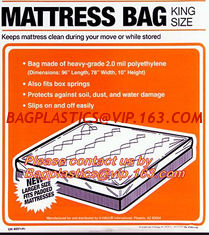 China Mattress bags,Chair cover, sofa cover, dust cover, dust sheet, dust bags, mattress storage bags, disposable bags, LDPE M supplier