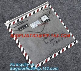 China slider zipper bag/transparent zip lock plastic packing bag for file,garment,scarf, reclosable plastic slider zipper bag supplier