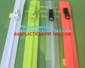 China #5 TPU Coating Waterproof Open End Nylon Zipper For Outdoor Garment, nylon waterproof zipper with auto lock slider zippe supplier