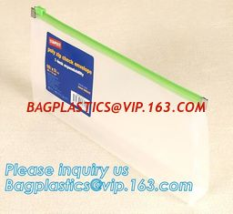 China POLY ZIP CHECK ENVELOPE BAGS, CHECK BAG, CHECK ENVELOPE, ZIP PACK, ZIPLOC SYSTEM, SLIDE ZIP CHECK BAG, SLIDER CHECK ENVE supplier
