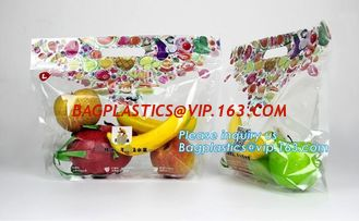 China Portable bag perforation fruit bag supermarket grape packaging bag, Venting Hole Fresh Fruit & Vegetable Packaging Plast supplier