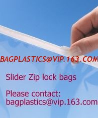 China RESEALABLE seal bag, Slider seal, Slider lock, Slider grip, Slider zip, Slider zipper, Food Freezer Oven Bags supplier