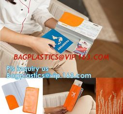 China Promotional Customized color PVC travel Passport Cover, Ticket Holder Travel Plastic Pvc Passport Cover, Eco-friendly pv supplier