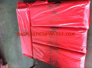 China Medical Waste Garbage Bags Infections Linens Waste Bags Medical Waste Yellow Sealable Disposable Bags, bagplastics, pac supplier