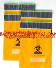 China Specimen Biohazard Bag/Ziplock bag with pocket, Manufacturer BioHazard Medical Specimen Zip Bags, bagplastics, bagease supplier