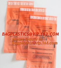 China Lab Bags Specimen Bags zip bag, Medical Grade Laboratory Specimen Bag, Three Wall Biohazard Specimen Bag With a Document supplier
