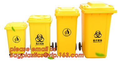 China Medical Disposal Bin Sharp /Safe SharpS Containers biohazard needle disposal sharp container, Plastic Wheeled Trash Can supplier