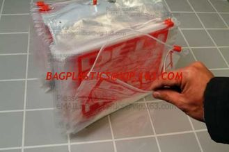 China Plastic Slider Bags with ziplock Zipper bags, grape packaging bags slider zipper fruit bag, Fruit Fresh Keeping Reusable supplier